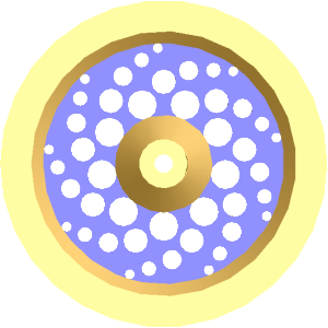 a cad model of the flywheel