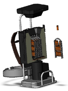 a cad model of the vacpac